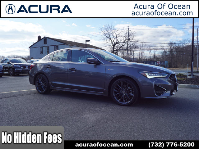 Certified Pre-Owned 2019 Acura ILX w/Tech w/A-SPEC