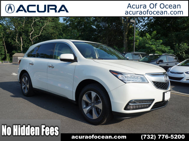 Certified PreOwned Acura MDX SHAWD SHAWD Dr SUV In Ocean - Acura mdx pre owned