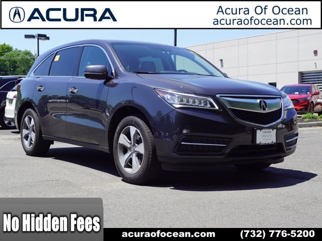 PreOwned Acura MDX SHAWD SHAWD Dr SUV In Ocean - Acura mdx pre owned