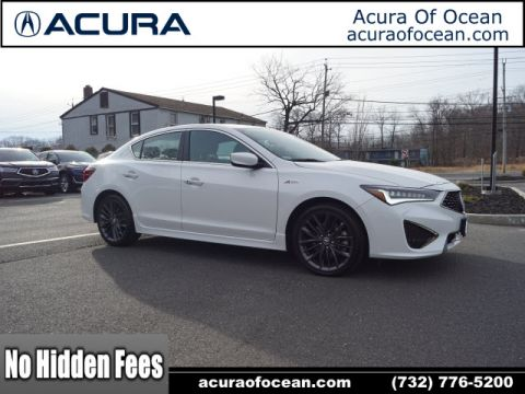 Certified Pre-Owned 2019 Acura ILX w/Premium w/A-SPEC