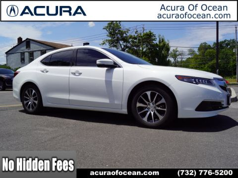 Certified Pre-Owned 2017 Acura TLX Base