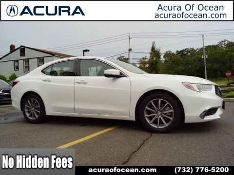 Certified Pre-Owned 2018 Acura TLX w/Tech