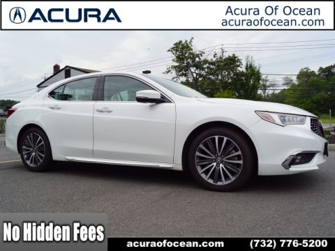 Certified Pre-Owned 2018 Acura TLX V6 w/Advance