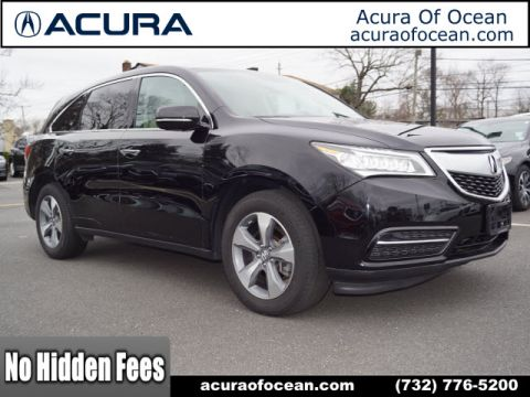 Certified Pre-Owned 2016 Acura MDX 4DR SH-AWD