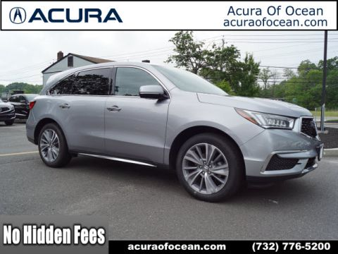 Certified Pre-Owned 2017 Acura MDX SH-AWD w/Tech