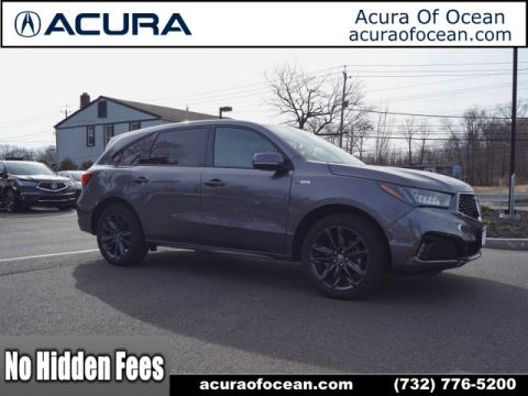 Certified Pre-Owned 2019 Acura MDX SH-AWD w/Tech w/A-SPEC